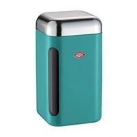 Wesco Square Canister 1.65L Turquoise