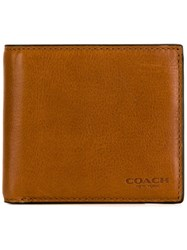 Coach Foldable Wallet Nude And Neutrals
