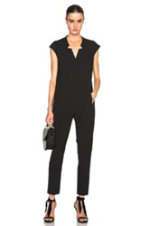 Mason By Michelle Mason Utility Jumpsuit In Black
