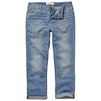 Fat Face Pale Crop Jeans Denim
