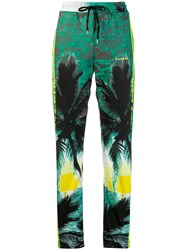 P.A.R.O.S.H. Addicted Print Track Pants Green