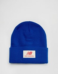 New Balance Troy Beanie Blue
