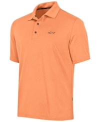 Greg Norman For Tasso Elba Big And Tall 5 Iron Performance Golf Polo Pacific Coral