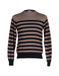Sun 68 Knitwear Jumpers Men Khaki