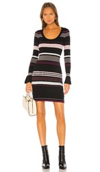 Cupcakes And Cashmere Cosette Sweater Dress In Black.