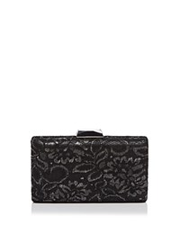 Sondra Roberts Lace Clutch Black