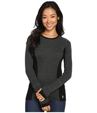 Smartwool Phd Light Long Sleeve Top Charcoal Heather Women's Long Sleeve Pullover Gray