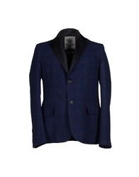 Blauer Suits And Jackets Blazers Men Dark Blue
