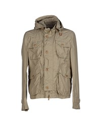 Siviglia Coats And Jackets Jackets Men Sand
