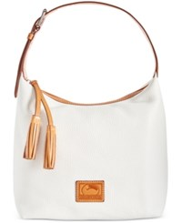 Dooney And Bourke Paige Sac Hobo White