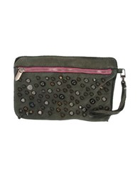 Manila Grace Denim Bags Handbags Women Military Green