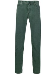 Jacob Cohen Slim Fit Chinos Green