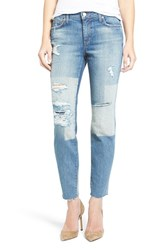 Joe's Jeans Women's Icon Destroyed Ankle Skinny
