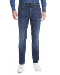 Zegna Sport Slim Fit Denim Jeans Blue