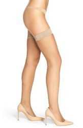 Oroblu Women's 'Bas Tricot' Fishnet Stay Up Stockings