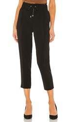 Atm Anthony Thomas Melillo Micro Twill Pull On Pant In Black.