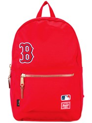 Herschel Supply Co. Settlement Backpack Red