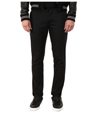 Huf Fulton Chino Slim Pants Black Men's Casual Pants