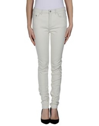 Blk Dnm Denim Pants Ivory