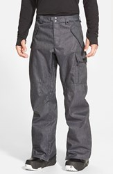 Men's Burton 'Covert' Waterproof Dryride Durashell Snowboard Pants Denim