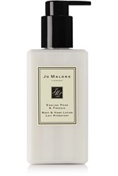 Jo Malone London English Pear And Freesia Body And Hand Lotion Colorless