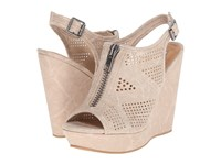 Not Rated Forrest Cream Women's Wedge Shoes Beige