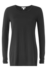 James Perse Cotton Top Black