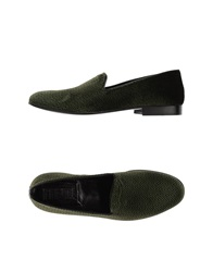 Never Ever Moccasins Dark Green