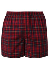 Gap Fall Boxer Shorts Ruby Wine Bordeaux