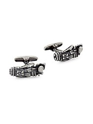 Saks Fifth Avenue Sterling Silver Golf Bag Cufflinks No Color