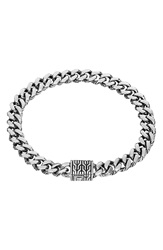 John Hardy 'Classic Chain' Small Link Bracelet Silver