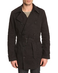 Filippa K Bryan Navy Blue Trench Coat