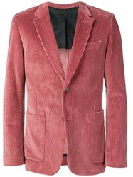 Ami Alexandre Mattiussi Paris Half Lined Two Buttons Jacket Pink