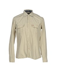 Jaggy Shirts Shirts Men Sand