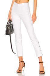 Rag And Bone Simone Snap Pant White
