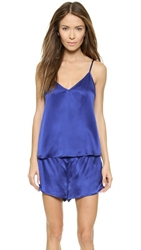 Mason By Michelle Mason Cami And Short Set Royal
