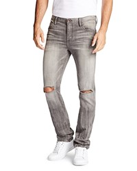 William Rast Dean Slim Straight Fit Jeans Cement