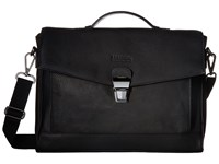 Kenneth Cole Reaction Modern Port Sonality Computer Portfolio Black Briefcase Bags