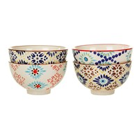 Pols Potten Mosaic Bowls Set Of 4