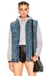 Alexander Wang Daze Vest In Blue