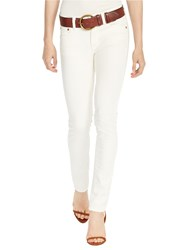 Polo Ralph Lauren Tompkins Skinny Fit Jeans Cream