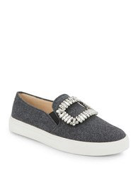 Karl Lagerfeld Ermine 2 Embellished Slip On Sneakers Grey