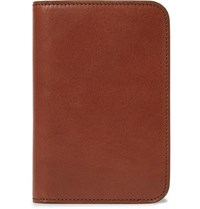 James Purdey And Sons Leather Passport Cover Brown