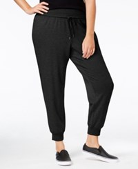 Ideology Plus Size Jogger Pants Only At Macy's Noir