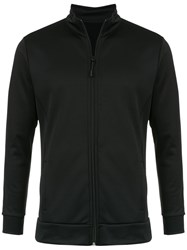 Track And Field Panelled Jacket Black