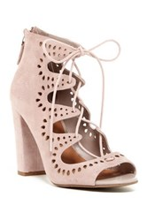 14Th And Union Cecily Laser Cut Sandal Wide Width Available Pink