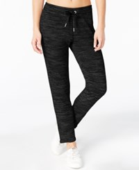 Calvin Klein Performance French Terry Skinny Pants Black