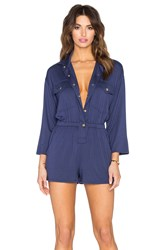 Rachel Pally Altman Playsuit Navy
