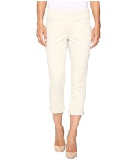 Jag Jeans Marion Crop In Bay Twill Stone Women's White