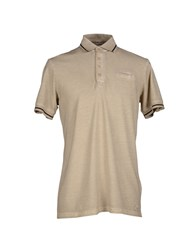 Hamaki Ho Topwear Polo Shirts Men Beige